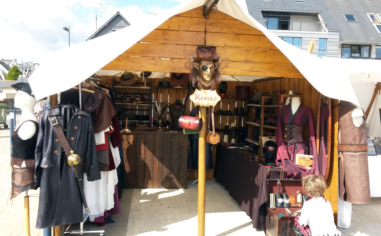 Stand Kenaz à Grain d'pirate 2016